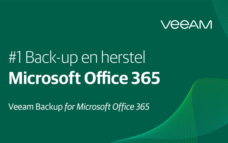 Office 365? Heeft u nagedacht over uw back-up?