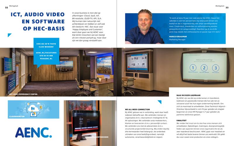 ICT, Audio Video en Software op Hec-Basis