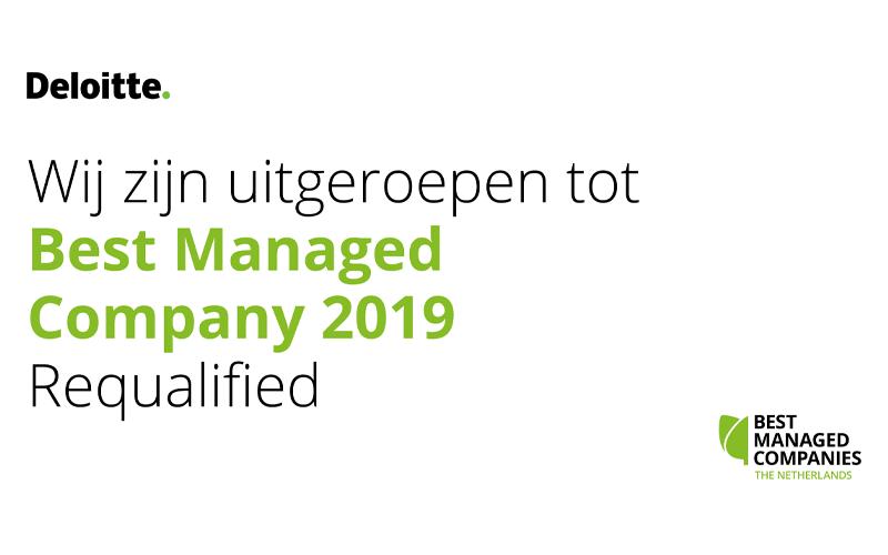 AENC benoemd tot Best Managed Company 2019